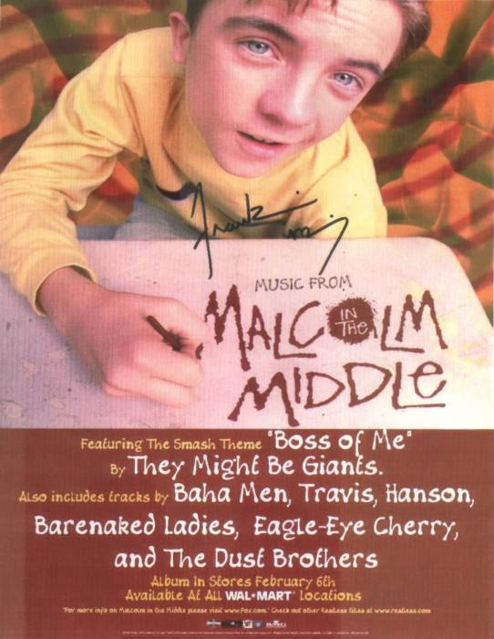 Music from Malcolm in the Middle - Soundtrack - CD - Promotional poster