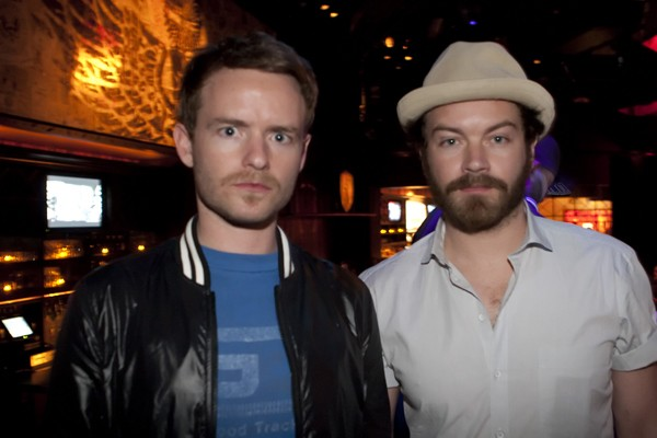 Chris and Danny Masterson at Wasted Space