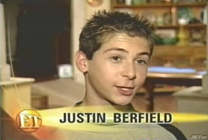 Justin on Entertainment Tonight, early 2000
