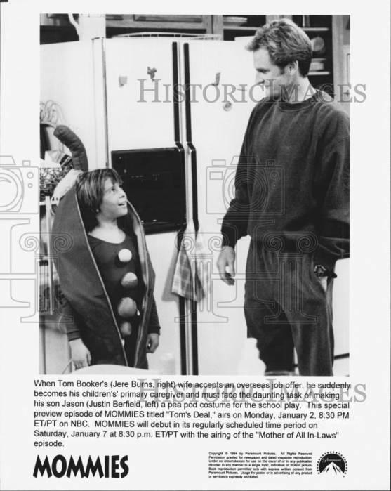 Justin Berfield in 'The Mommies' TV series (1994)