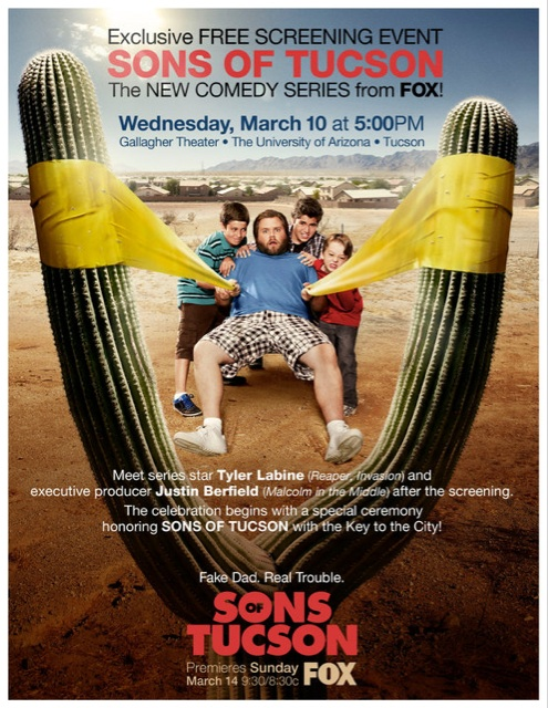 Sons of Tucson Screening Event Poster