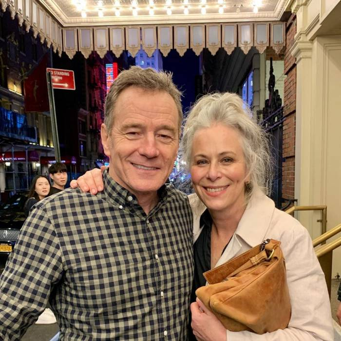 Bryan Cranston and Jane Kaczmarek reunited on Broadway