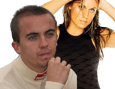 Frankie Muniz (Malcolm) and Amanda Beard