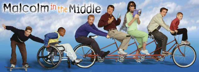 Malcolm in the Middle on Bikes