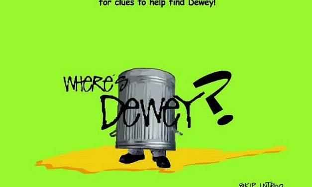 Flashback: 'Where's Dewey?' Teaser Campaign