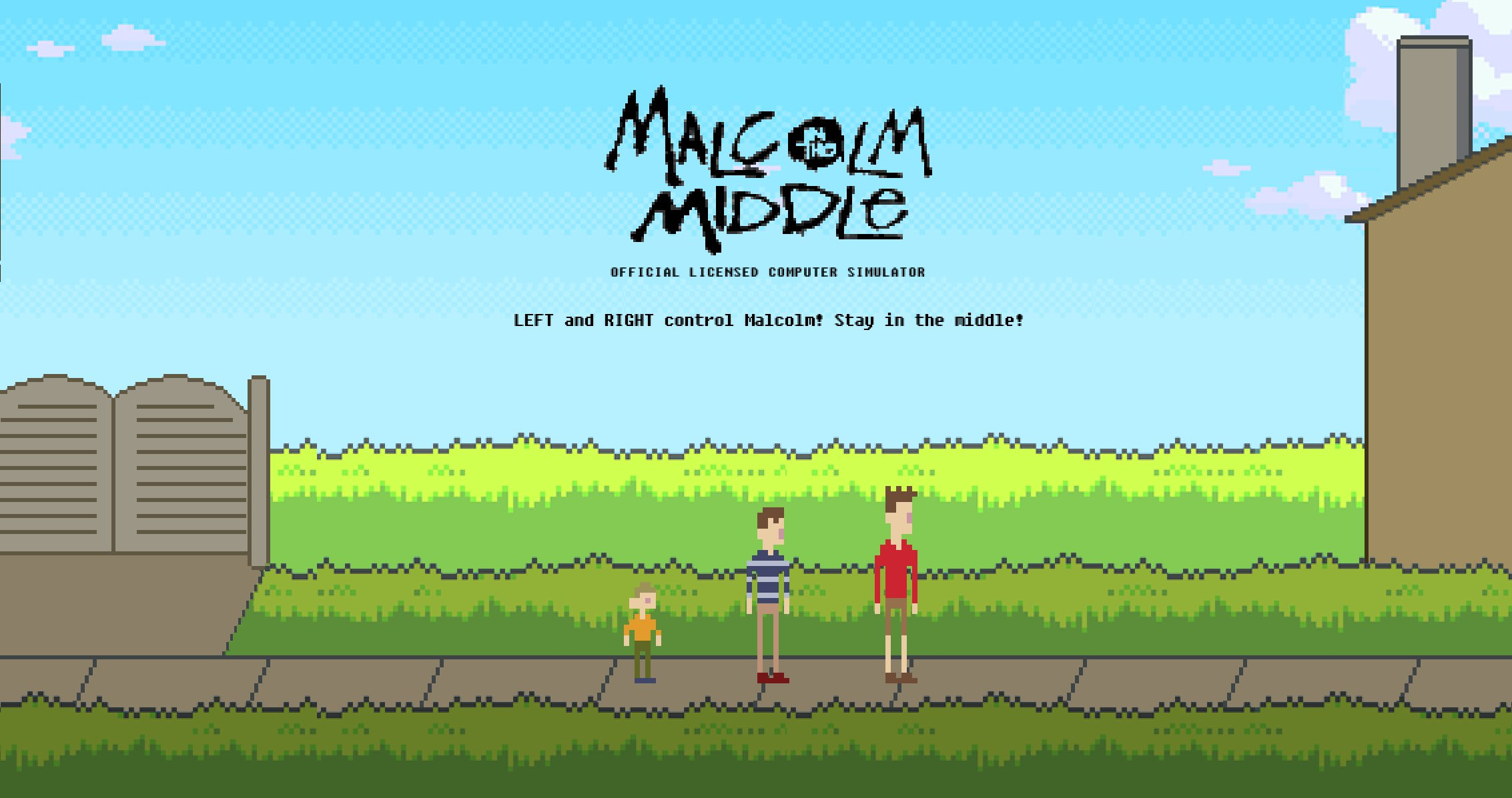Malcolm in the Middle Video Game!