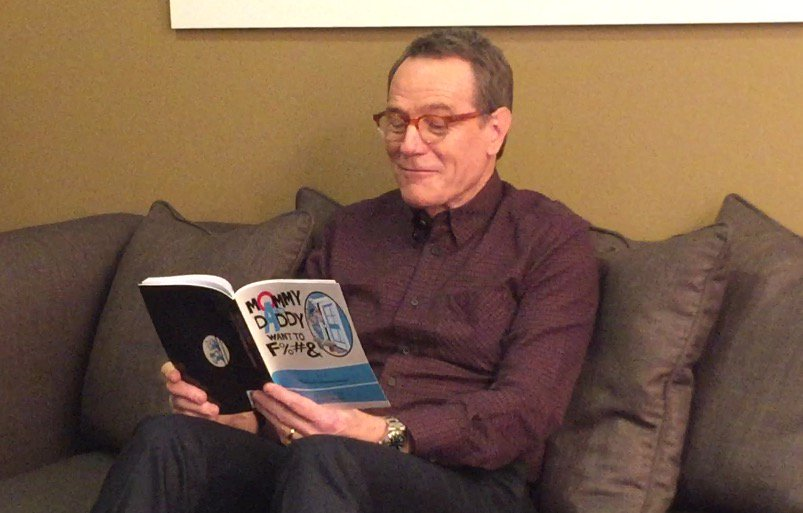 Bryan Cranston reads 'Mommy and Daddy want to F%#&' by Malcolm in the Middle writer producer Glouberman